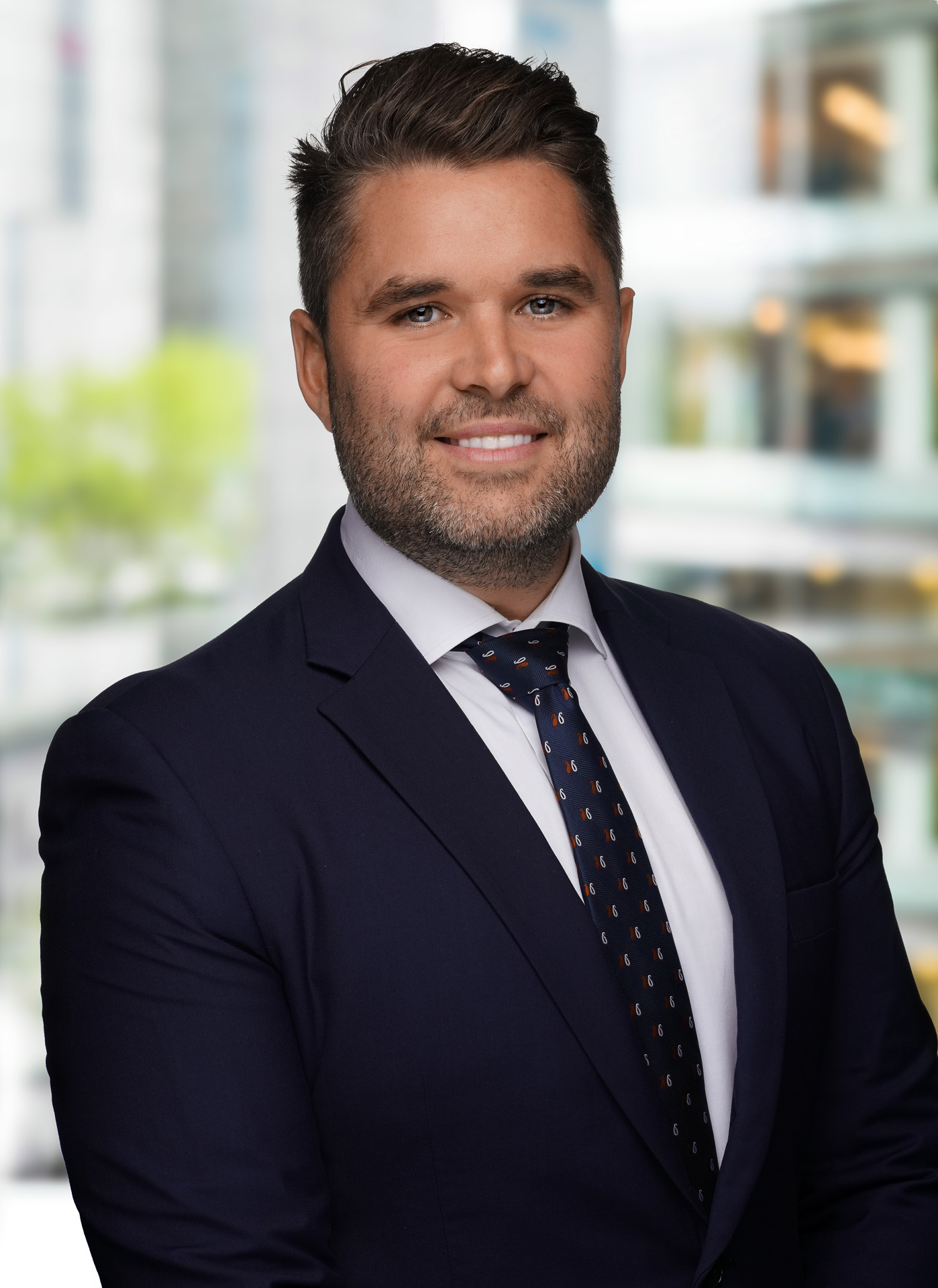Formal Auckland Corporate Headshot